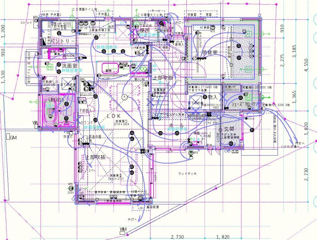 電気図1F