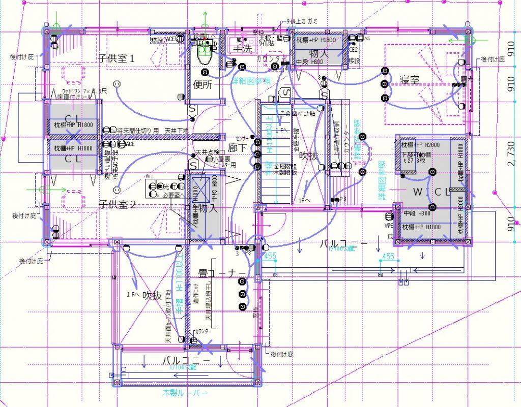 電気図2F