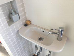 ホール手洗い